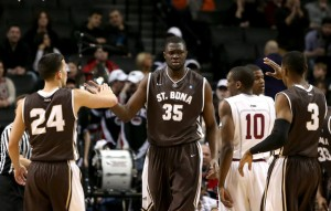 N'Doye will lead the Bonnies down low in his senior season.