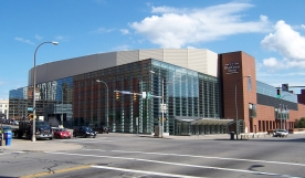 Rochester's Blue Cross Arena will host St. Bonaventure's A-10 game against George Mason on Jan. 14.